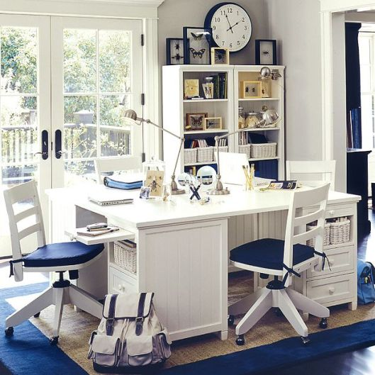 sweethomestyle-tumblr-com-blue-white-study-room