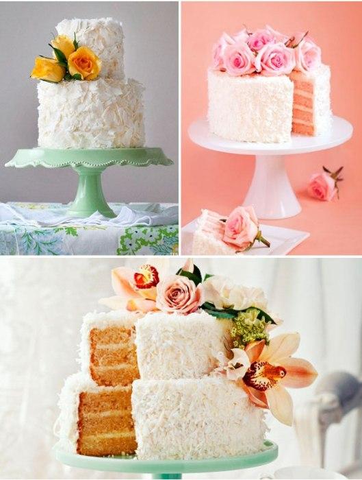 bolo-coco-flores-casamento-noivado