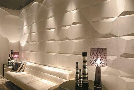 As linhas da linha prisma da castelatto decoram as paredes - Panel decorativo cocina ...