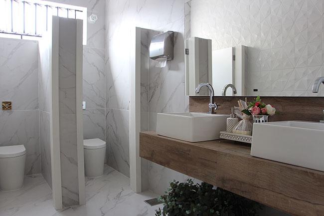 Decortiles no banheiro Fornari ~ Revestimento Para Meia Parede De Quarto